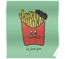 Le French fries Poster