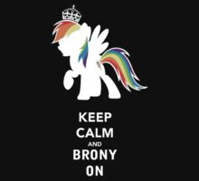 Keep Calm and Brony On by supremedesigns