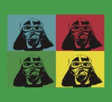 Darth Vader Pop Art Kids Clothes
