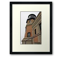 Split Rock Lighthouse Closeup Framed Print