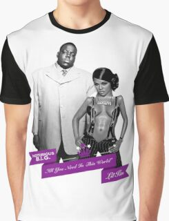 Mr. & Mrs. White Graphic T-Shirt