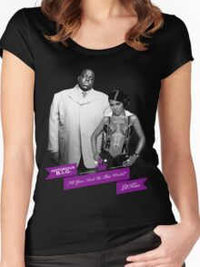 Mr. & Mrs. White Women's Fitted Scoop T-Shirt