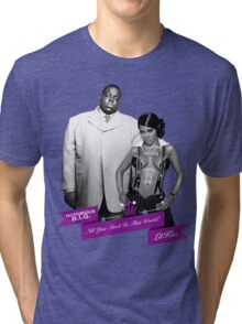 Mr. & Mrs. White Tri-blend T-Shirt