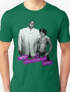 Mr. & Mrs. White Unisex T-Shirt