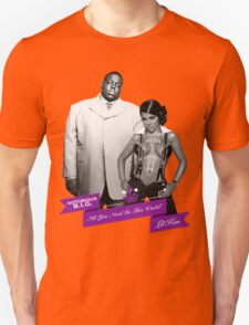 Mr. & Mrs. White Unisex T-Shirt
