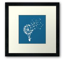 Going where the wind blows Framed Print