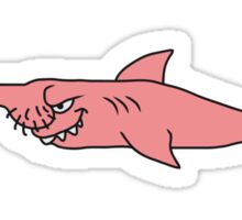 Funny Penis Shark Fish Sticker