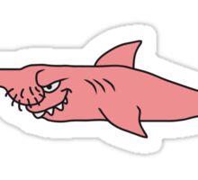 Funny Penis Shark Fish Sticker