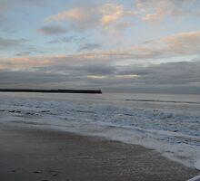 Foamy Sea off the East Sands by Adrian Wale