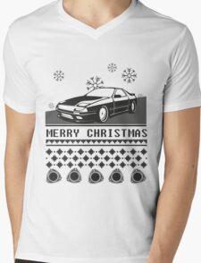Merry Christmas rx7 Mens V-Neck T-Shirt