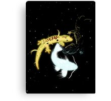 Cosmic Reptiles Canvas Print