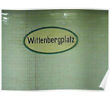Wittenbergplatz Poster