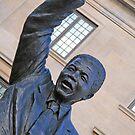 Nelson Mandela's Fist by Cora Wandel