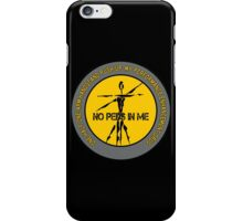 One Half One-Arm Handstand Push-Up - My Performance Enhancement Drug iPhone Case/Skin