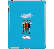 I Love When it Rains iPad Case/Skin