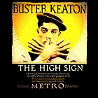 Buster Keaton - The High Sign by Squeeboptera
