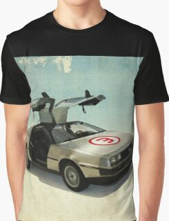 Number 3 - DeLorean Graphic T-Shirt