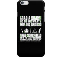 Harry of the DEAD iPhone Case/Skin