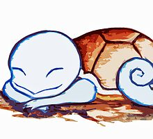 Squirtle by TiaCleary