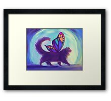 Rainbow Bridge Fairy Framed Print