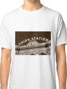 Denver - Union Station Classic T-Shirt
