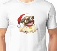 Christmas Jumper Pug Cartoon  Unisex T-Shirt