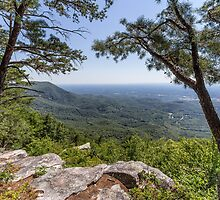 Overlook at Fort Mountain by Bernd F. Laeschke