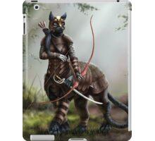 The Huntress - Felitaur Archer iPad Case/Skin