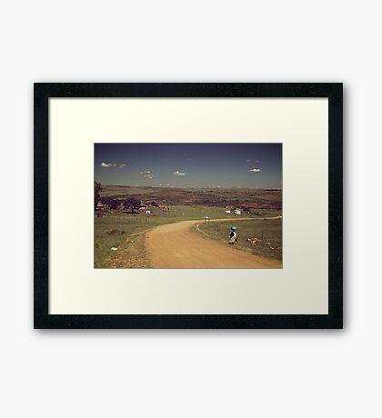 South Africa Framed Print