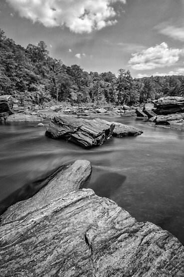 Sweetwater Creek - long exposure by Bernd F. Laeschke