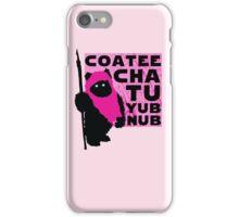 Pink Ewok iPhone Case/Skin