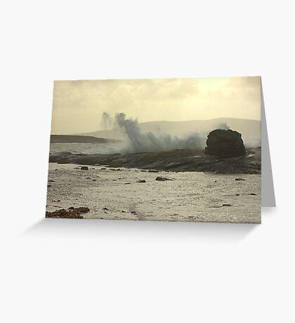 Stormy Bantry Bay Greeting Card
