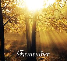 Remember by Joey Kuipers