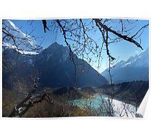 Ascent to Mt Manaslu Basecamp - 4500 metres Poster