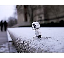 Lonely Stormtrooper Photographic Print