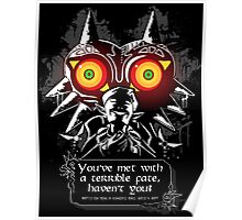 Majoras Mask - Meeting With a Terrible Fate Poster