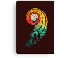 Journey of a thousand miles Canvas Print