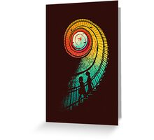 Journey of a thousand miles Greeting Card