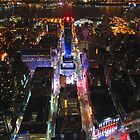 Empire State Building vista by night by kelliejane