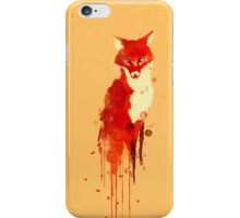 The fox, the forest spirit iPhone Case/Skin