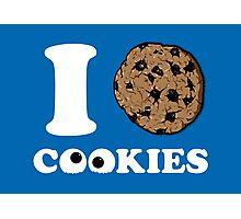 I Love Cookies Photographic Print