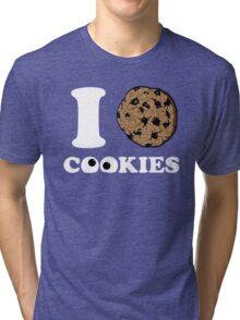 I Love Cookies Tri-blend T-Shirt