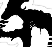 Zeds Dead ZD Logo (black) Sticker