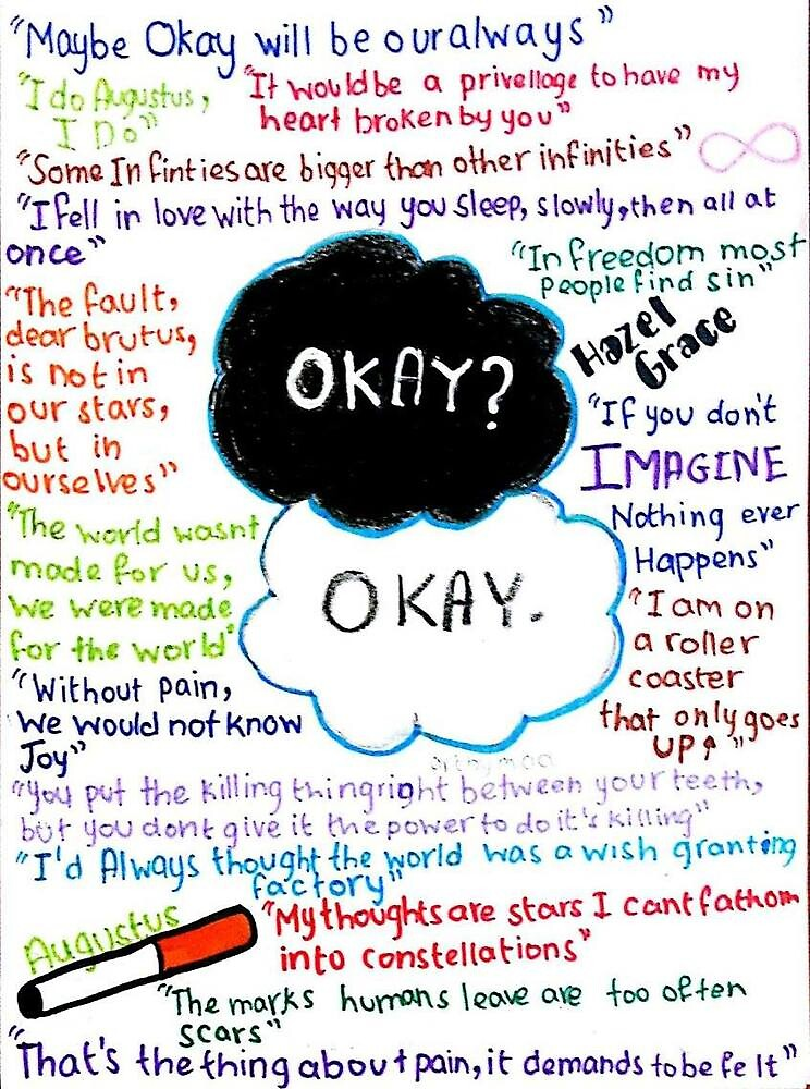 """The Fault in our stars quote - 206.4KB"