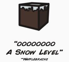 OOO  a snow level - minecraft by Mrfatboysing