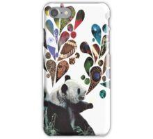 Noisey Pandas iPhone Case/Skin