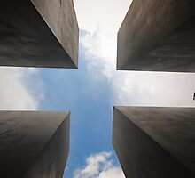 Memorial to the murdered Jews of Europe by Jamie Freeman