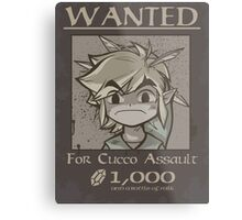 Wanted - Cucco Assault Metal Print