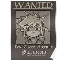 Wanted - Cucco Assault Poster