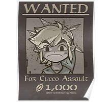 Wanted - Cucco Assault Poster